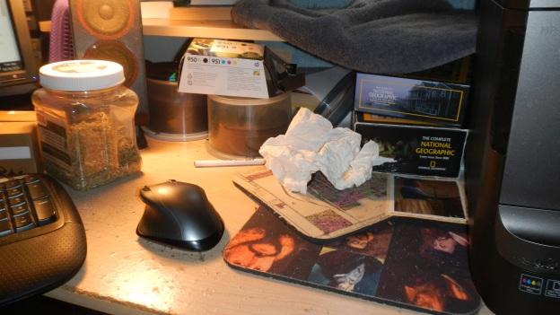 A mess...!